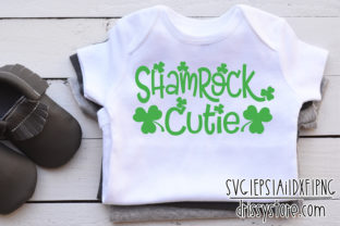 Shamrock Cutie Graphic Crafts By DrissyStore