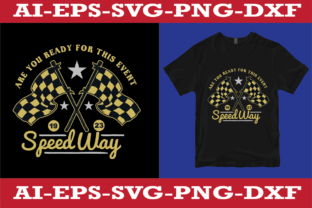 Speedway T-shirt Design Graphic Print Templates By sujonrana788