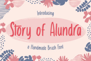 Print on Demand: Story of Alundra Display Font By TypeFactory