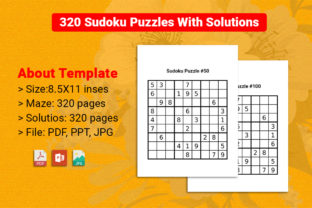 Sudoku Puzzles Book for Kids and Adults Graphic KDP Interiors By VectorRiver