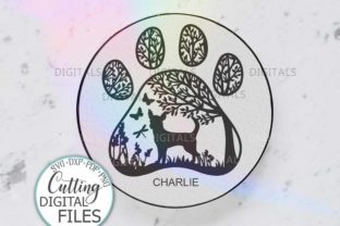 Chihuahua PAW Dog Sign Svg Dx Cut out Graphic Crafts By Cornelia