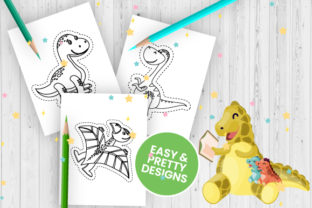 Print on Demand: Dinosaur Scissor Skills for Kids - Vol 2 Graphic Coloring Pages & Books Kids By Trend Color