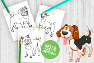 Print on Demand: Dog Coloring Pages for Kids - Vol 1 Graphic Coloring Pages & Books Kids By Trend Color