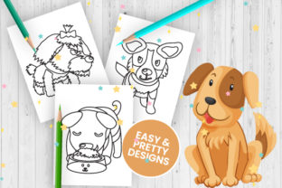 Print on Demand: Dog Coloring Pages for Kids - Vol 3 Graphic Coloring Pages & Books Kids By Trend Color
