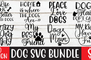Dog SVG Bundle Vol-2  By ismetarabd