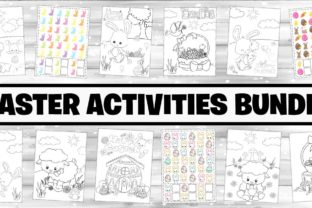 Easter Activities for Kids Bundle  By marilakits