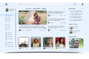 Facebook Redesign Landing Page Templates Graphic Landing Page Templates By Freelancer Azad