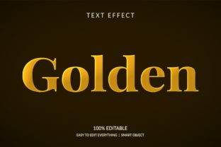 Golden 3d Glitter Gold Color Text Effect Graphic Layer Styles By grgroup03