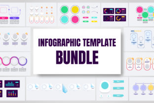 Print on Demand: Infographic Template Bundle  By bsd studio