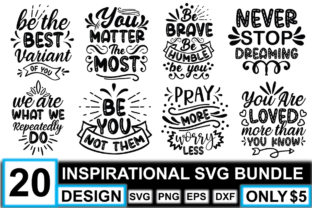 Inspirational SVG Bundle  By crafthome