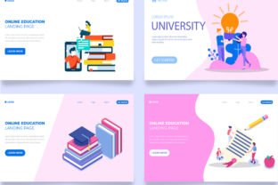 Landing Page Templates Graphic Landing Page Templates By Freelancer Azad