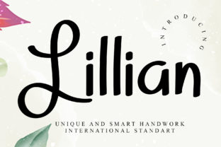 Print on Demand: Lillian Display Font By dazzlinggleam