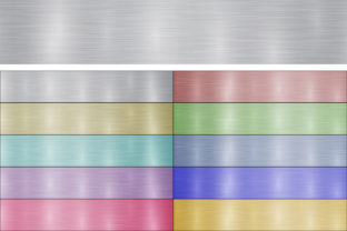 Polished Metal Banners Graphic Backgrounds By alsstocks450