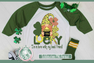 Sublimation | Lucky Gnome Graphic Illustrations By QueenBrat Digital Designs