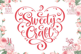 Print on Demand: Sweety Craft Script & Handwritten Font By fontherapy