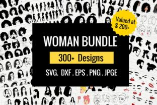 Woman Bundle Graphic Crafts By svgstudiofiles