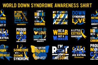 World Down Syndrome Awareness T-shirt Bundle  By tshirthunt2021