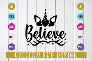 Print on Demand: Believe Design Svg Graphic Print Templates By BDB_Graphics