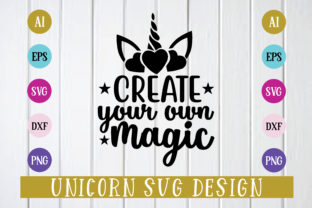 Print on Demand: Create Your Own Magic Svg Design Graphic Print Templates By BDB_Graphics