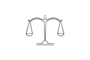 Print on Demand: Doodle Justice Graphic Icons By GwensGraphicstudio
