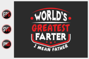 Print on Demand: Father's Day Typographic Slogan Deisgn. Graphic Print Templates By ajgortee