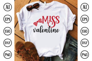 Miss Valentine Graphic Crafts By Printable Store