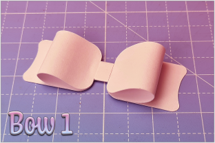 Print on Demand: Beautiful Bows Graphic 3D SVG By gentlemancrafter 2