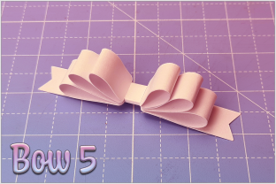 Print on Demand: Beautiful Bows Graphic 3D SVG By gentlemancrafter 6