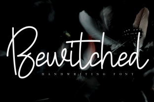 Print on Demand: Bewitched Script & Handwritten Font By Roronoa zoro.S.P.D