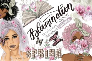 Bloomination Clipart Graphic Illustrations By Tanya Kart