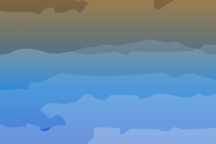 Blue & Orange Gradient Abstract (bg) Graphic Backgrounds By RHIN Design