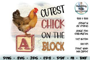 Print on Demand: Cutest Chick on the Block Graphic Illustrations By RamblingBoho