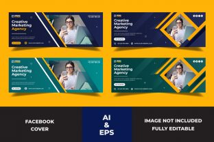 Facebook Cover Creative Marketing Agency Graphic Websites By Miraz28