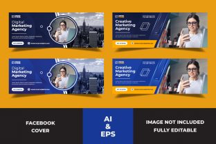 Facebook Cover Digital Marketing Agency Graphic Websites By Miraz28