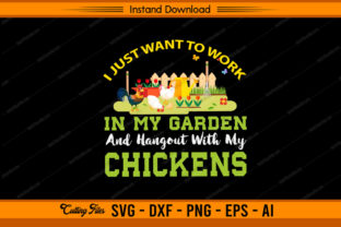 Hangout with My Chickens Graphic Print Templates By sketchbundle
