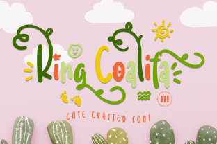 Print on Demand: King Coalifa Display Schriftarten von colllabstudio