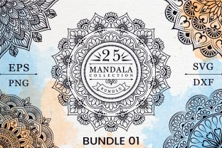 Print on Demand: Mandala Coloring Pages Bundle 01 Graphic Coloring Pages & Books By KdpKing