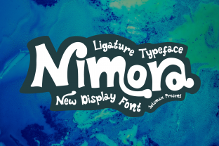 Print on Demand: Nimora Display Font By Jetsmax Studio