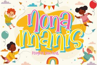 Print on Demand: Nona Manis Display Font By Gilar Studio
