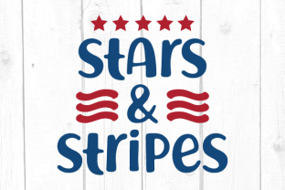Stars & Stripes Svg Graphic Crafts By kaoticsvgdesigns
