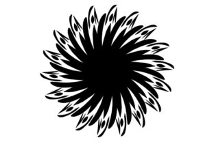 Print on Demand: Cool Black Classic Mandala Graphic Crafts By Finart