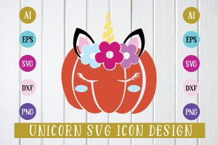 Print on Demand: Unicorn Svg Icon Graphic Icons By Printable Store