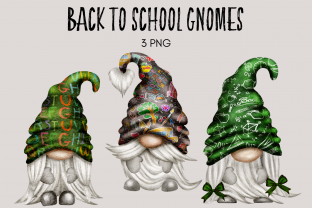 Print on Demand: Back to School Teacher Gnomes Graphic Illustrations By Celebrately Graphics
