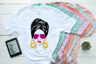 Black Woman Nubian Princess Queen SVG Graphic Illustrations By Yayasvg