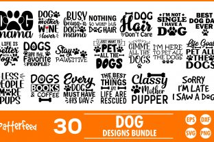 Dogs SVG Bundles, Funny Dogs Svg Bundles Graphic Print Templates By PatternFeed