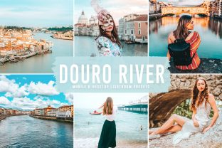 Print on Demand: Douro River Pro Lightroom Presets Graphic Actions & Presets By Creative Tacos