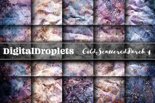 Gold Scattered Vol. 4 | Collection Graphic Backgrounds By digitaldroplets