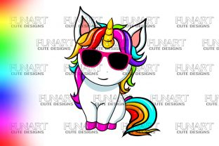LOVELY UNICORN, CUTE DESIGN,SUBLIMATION Graphic Illustrations By Fundesings