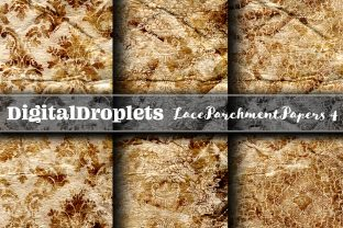 Lace Parchment | FREEBIE Graphic Backgrounds By digitaldroplets