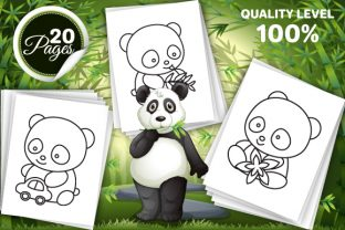 Print on Demand: Panda Coloring Pages for Kids Graphic Coloring Pages & Books Kids By Trend Color